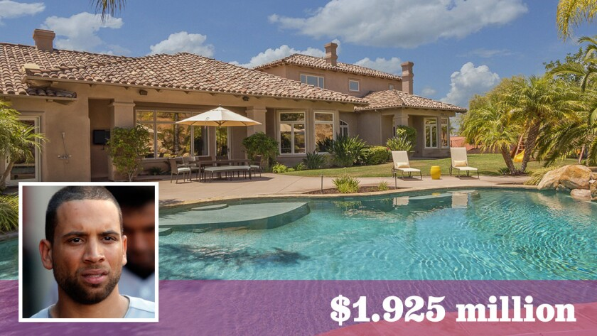 Former Dodgers first baseman James Loney has sold his Poway home of five years for $1.925 million.