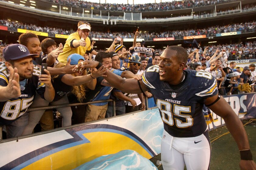 Among the questions on the mind of San Diego sports fans is the future of Antonio Gates.