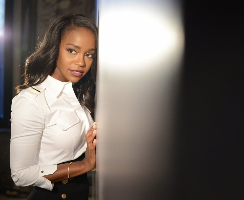 """Aja Naomi King stars as Cherry Turner, wife of Nat Turner, in """"The Birth of a Nation."""""""