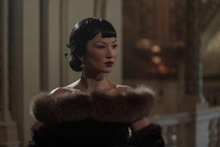 Michelle Krusiec portrays Anna May Wong, Hollywood's first Chinese American movie star.