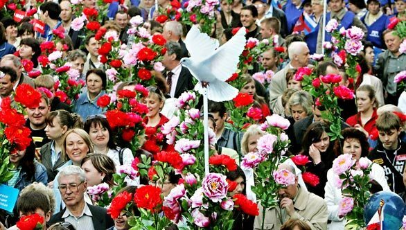 May Day, Moscow