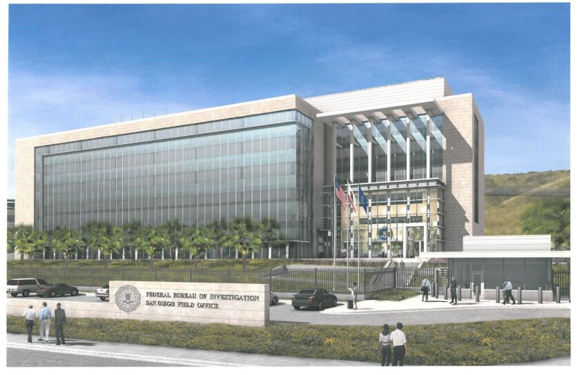 The new FBI building in Sorrento Mesa is expected to be completed by the end of 2012.