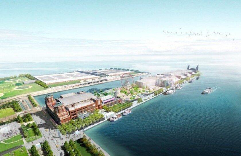 Chicago's Navy Pier redevelopment plan