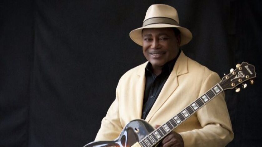 Guitarist George Benson (above) will embark on a joint tour with saxophonist Kenny G.