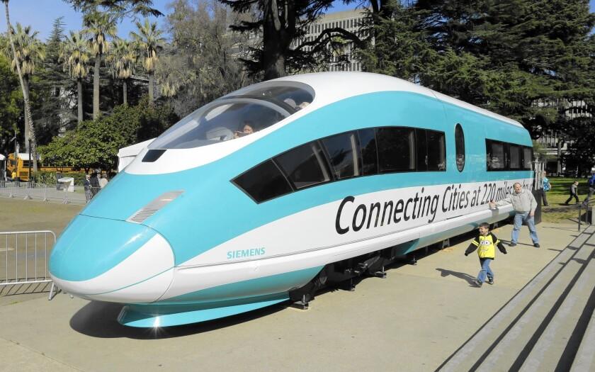 Legislators seek more oversight of bullet train project