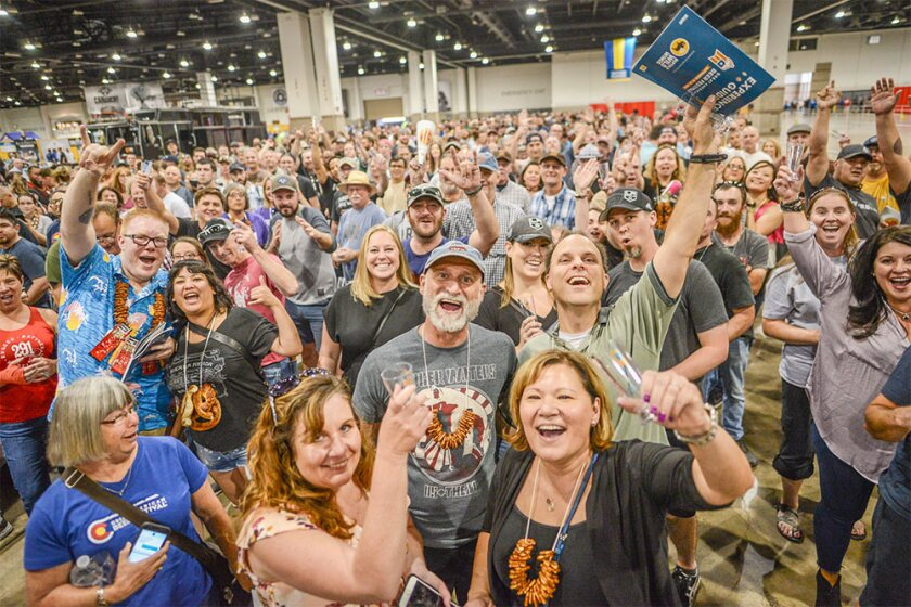 The Great American Beer Festival, held annually in Denver, is the nation's largest beer competition.