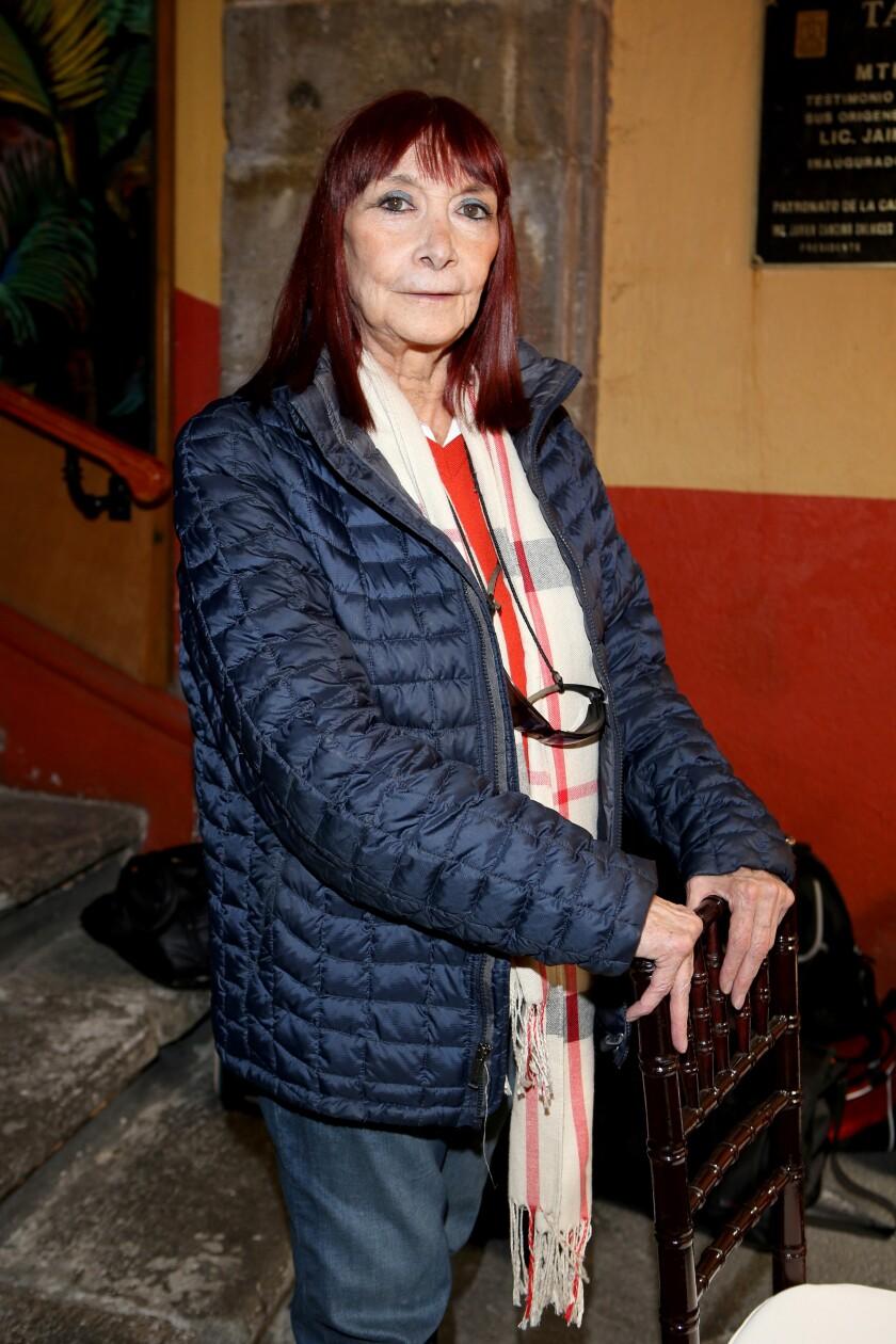 Fotografía cedida este lunes de la actriz mexicana Lucía Guilmáin