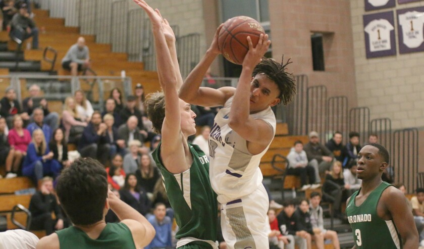 Guard Jailen Nelson is key to Carlsbad's league title hopes.