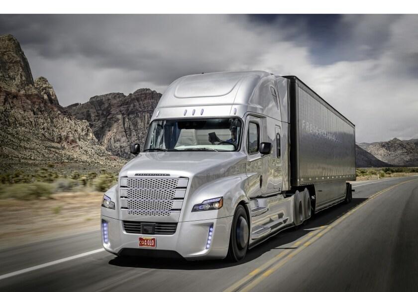 Daimler autonomous big-rig