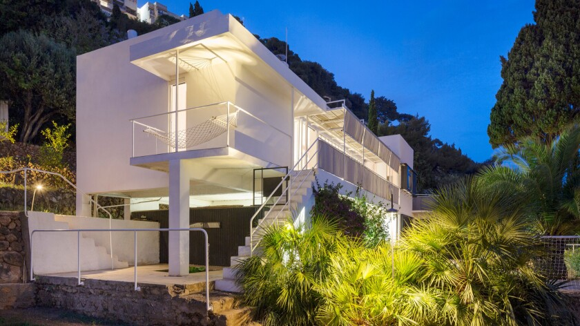 Eileen Gray's Villa E-1072 in southern France is one of nine recipients of a Getty Foundation Keeping It Modern grant for 2016.