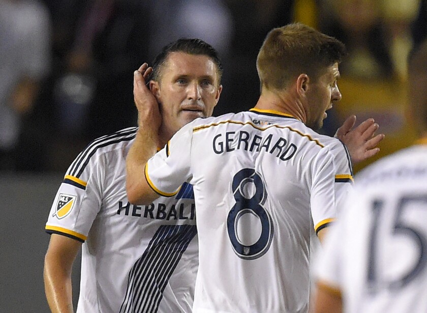 Robbie Keane, Steven Gerrard