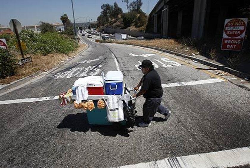 life of a street vendor