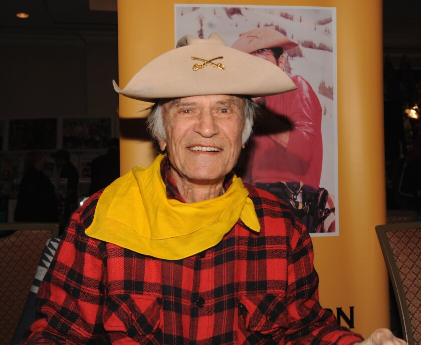 Larry Storch aims to leave 'em laughing one last time on