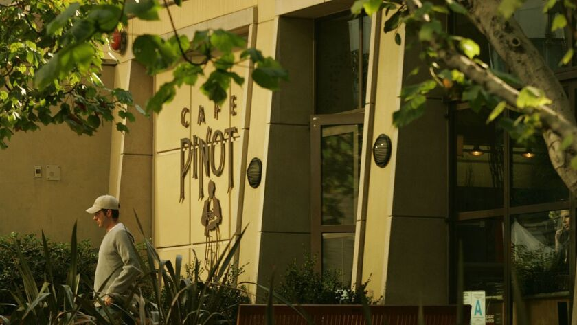 Café Pinot in downtown Los Angeles is closing Friday.