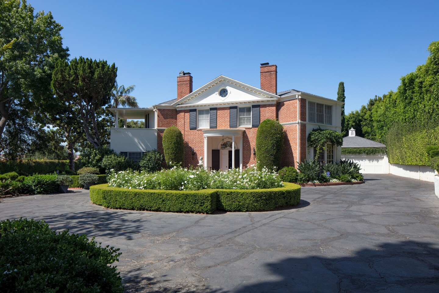 Tyrone Powers' onetime Brentwood home