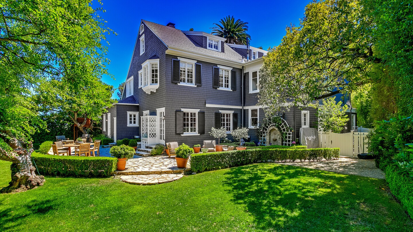 The Shingle-style residence in Pasadena was built in 1894, just eight years after the city was incorporated.
