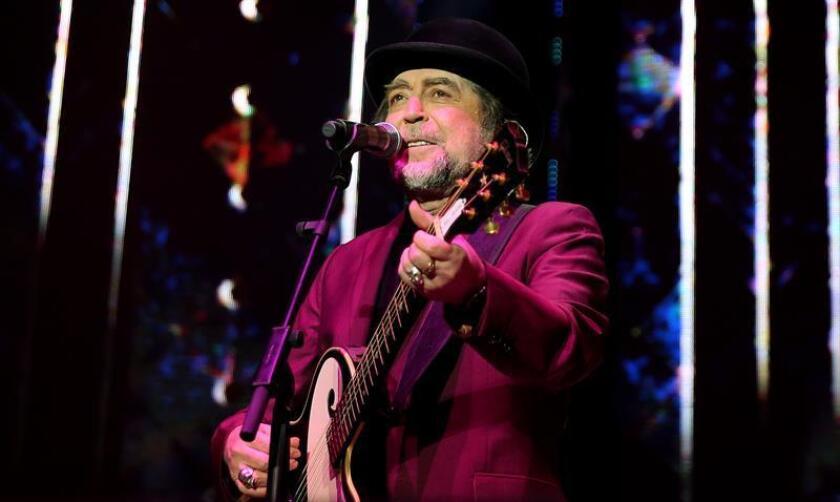 El cantautor español Joaquín Sabina durante una presentación. EFE/Archivo