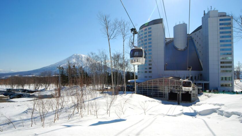 The Hilton in Niseko Village is a ski-in ski-out property that attracts a Japanese clientele with it