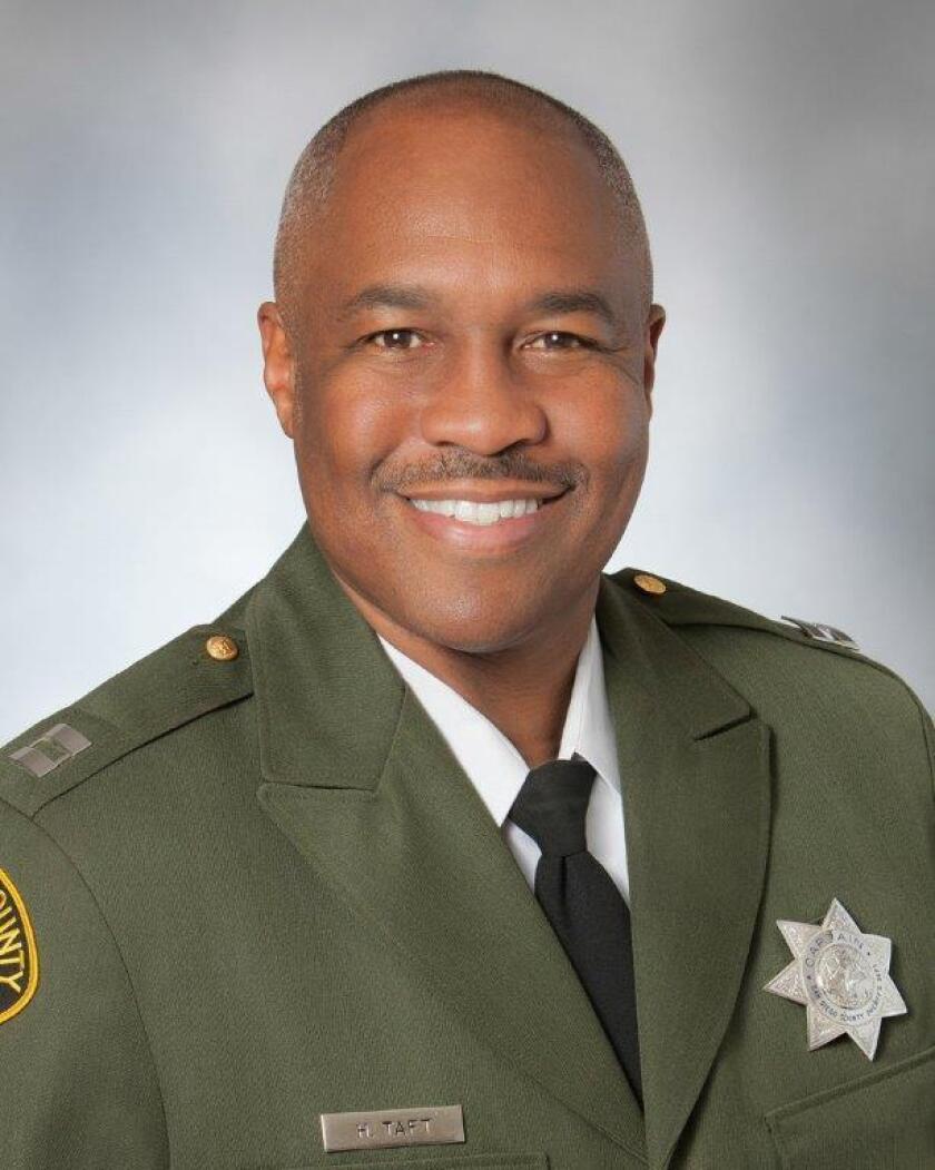Sheriff's Capt. Herb Taft