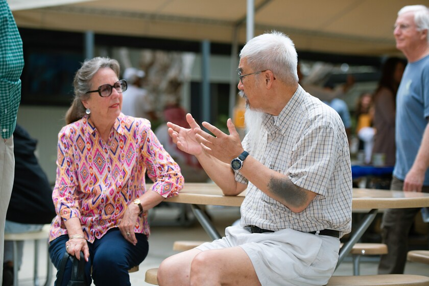 The Osher Lifelong Learning Institute offers a variety of courses in which those older than 50 can learn and interact.