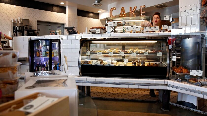 The new Blackmarket Bakery reflects its location: chic, delicious and welcoming.