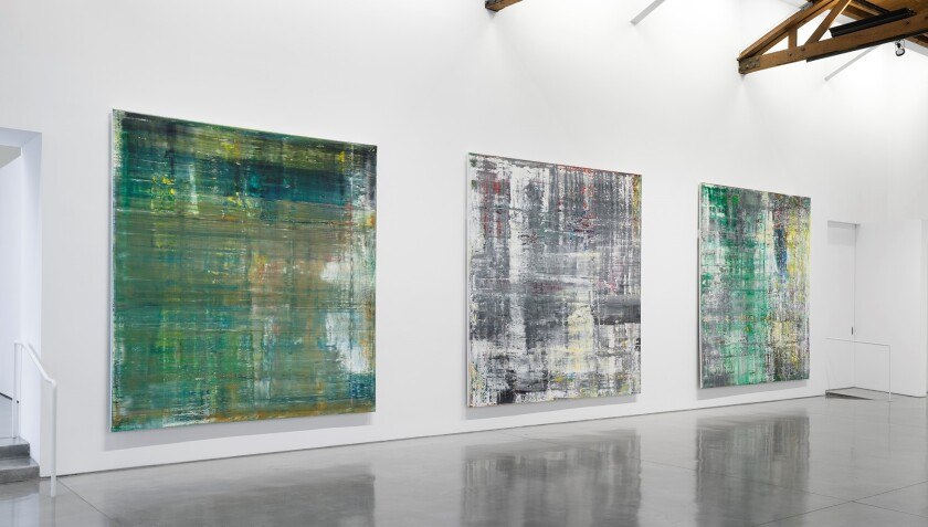 """Gerhard Richter, """"Cage Paintings,"""" 2006."""