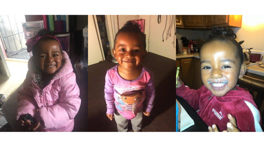 Arianna Fitts, 2, has been missing since early April. Her mother's body was found in a shallow grave in a San Francisco city park April 8.