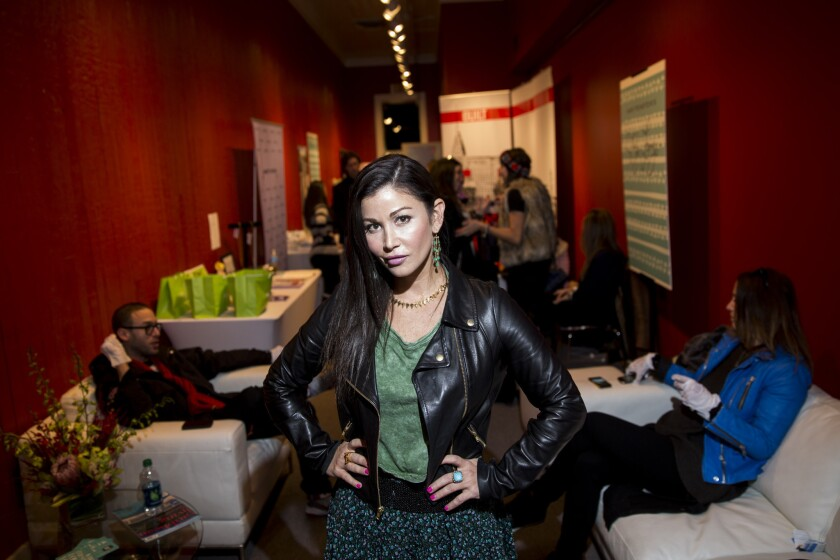 At Sundance swag suites, 'one Instagram can change everything'