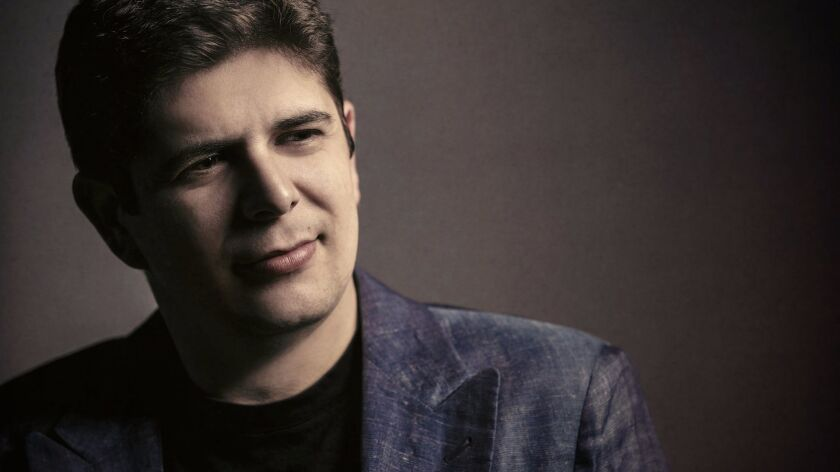 Headshot of Javier Perianes, featured pianist at Mainly Mozart Festival June 24-25, for 6/22 ND. CRE