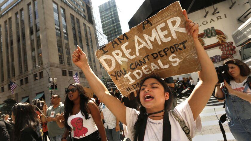NEW YORK, NEW YORK--Gloria Mendoza, age 26, is a Dreamer. She is originally from Mexico City. She to