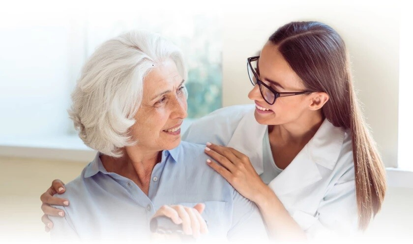 Golden Care provides dependable at-home assistance to seniors.