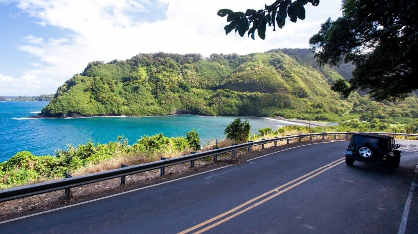 The scenic drive to Hana is a must-do on Maui.