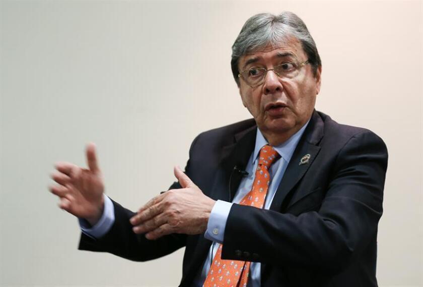 El ministro de Exteriores de Colombia, Carlos Holmes Trujillo. EFE/Archivo