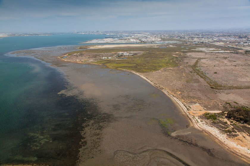 An artificial reef may be constructed south of the Chula Vista Marina.
