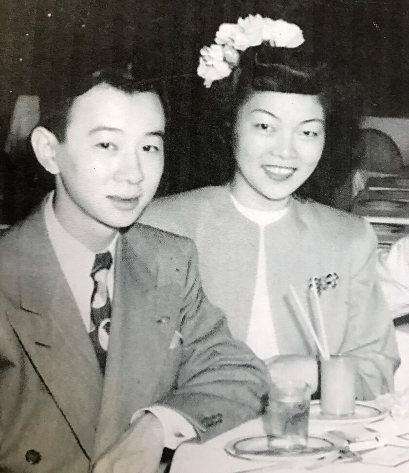 Louis Moore and his wife Nellie