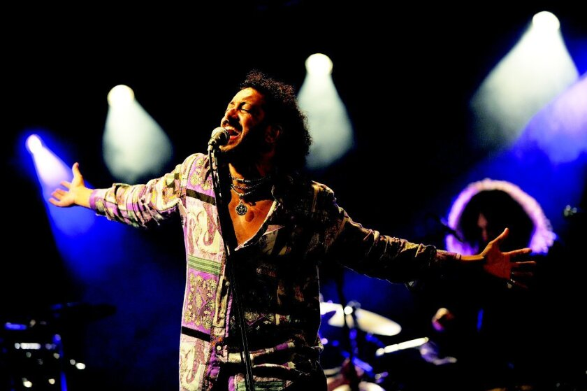Yemen Blues with vocalist Ravid Kahalani will play March 1 at the La Paloma Theatre.