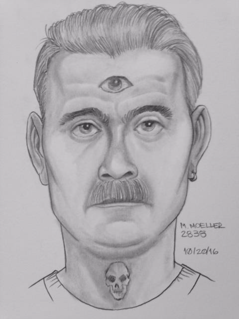 Suspect in Imperial Beach attempted kidnapping on Oct. 19.