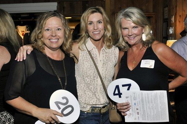 Dana McCaskill, Carrie Butler, Melissa Brewster