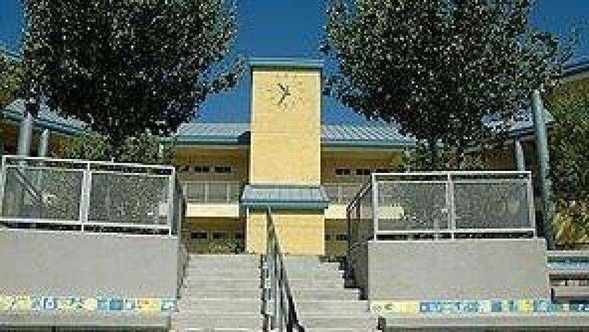 Horton Elementary School in San Diego