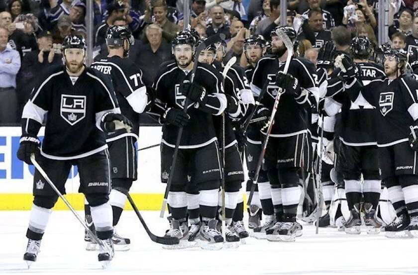 Kings' evolution from losing team to Stanley Cup winner continues