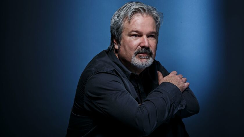 """Gore Verbinski, director of """"A Cure for Wellness,"""" is seen at West Hollywood's London Hotel on Feb. 6, 2017."""