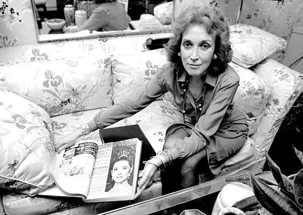 """Helen Gurley Brown, author of """"Sex and the Single Girl"""" and Cosmopolitan magazine editor for 32 years, died Aug. 13 at age 90. Full obituary"""