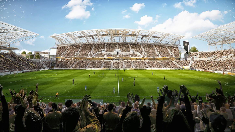 El Banc of California Stadium, la casa del LAFC, tendrá capacidad para 22,000 personas.