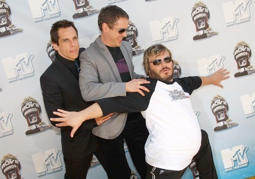 Ben Stiller, Robert Downey Jr., and Jack Black