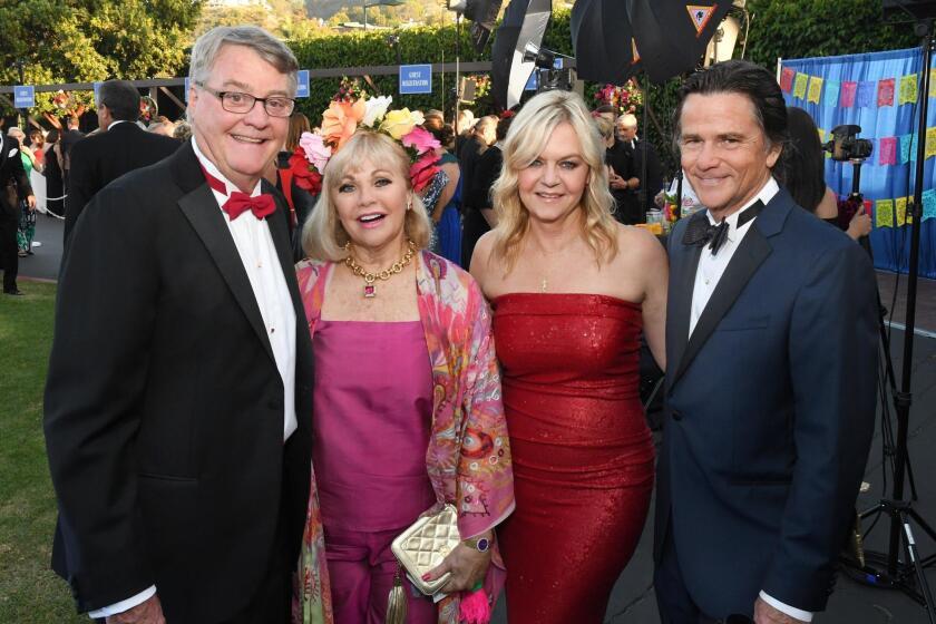 Bill and Jeanne Larson, Lorna Alksne and Chris McKellar