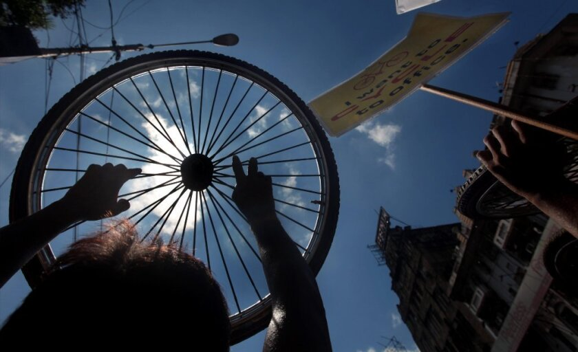 calcutta bicycle ban