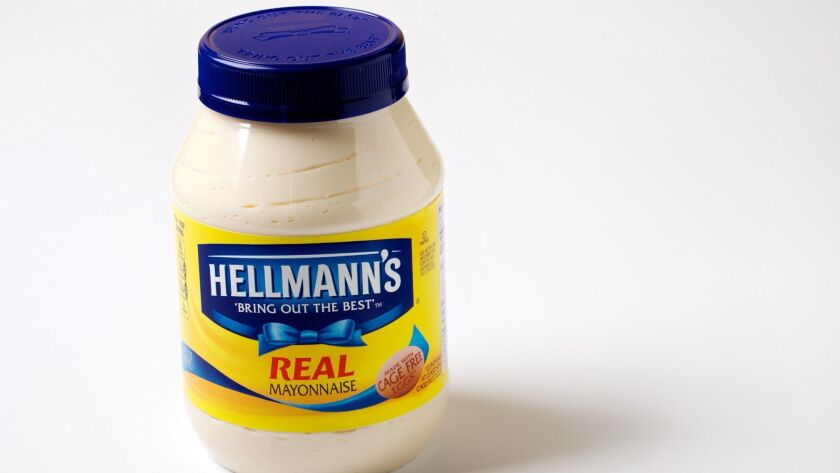 Unilever, which makes Hellmann's mayonnaise, is one of the four companies behind the Sustainable Food Policy Alliance.