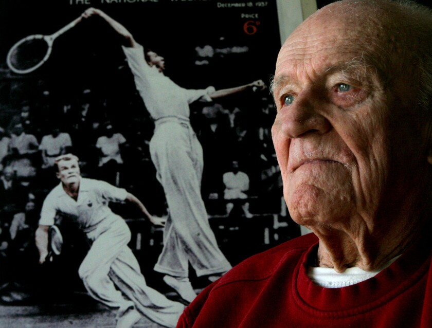 Gene Mako, doubles champion in tennis with Don Budge, dies at 97