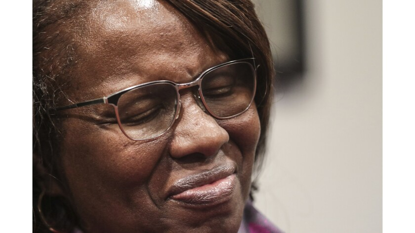 Felicia Sanders watched her son, Tywanza Sanders, die at the hands of Dylann Roof.