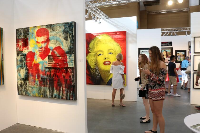 A photo of Art San Diego contemporary art showcase